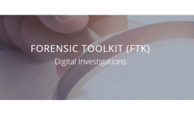Forensic Toolkit –  FTK