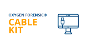 Oxygen Forensic Cable Kit