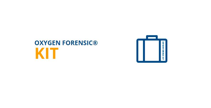 Oxygen Forensic Kit